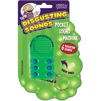 Big Mouth Toys Pocket Disgusting Sounds Machine