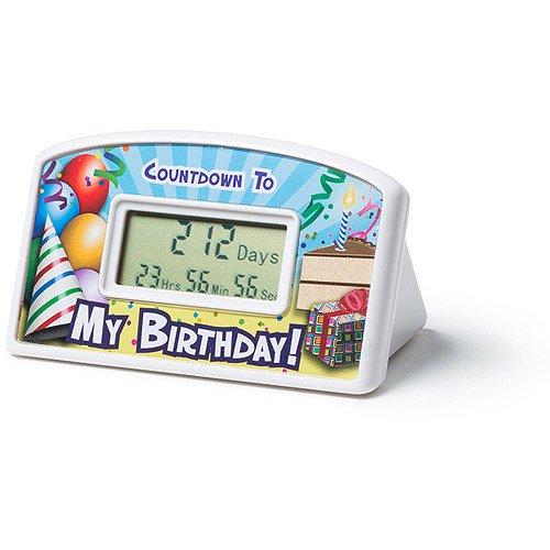 Big Mouth Toys My Birthday Countdown Timer Clock