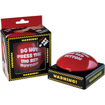 Big Mouth Toys Do Not Push Big Red Button
