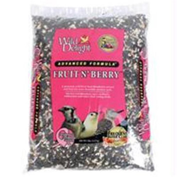 D & D Commodities Wild Delight Fruit n Berry Wild Bird Food - 5 lb.