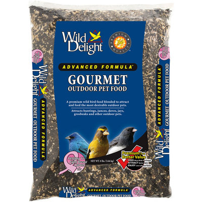 D & D Commodities, Ltd Wild Delight 368080 8 lb Gourmet Outdoor Pet Food