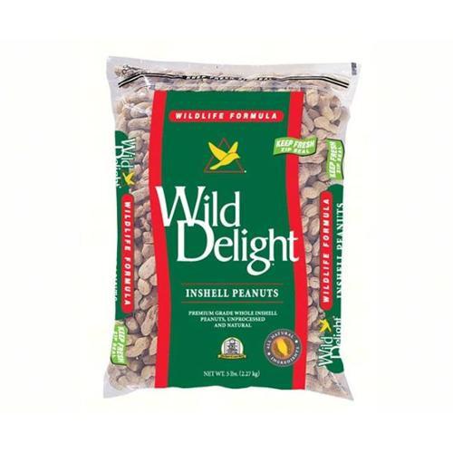 Wild Delight Inshelled Peanuts - 5 lb.