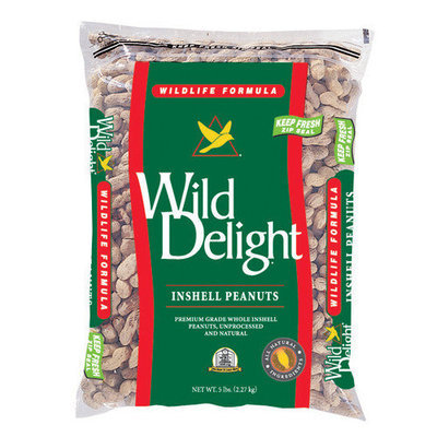 D & D Commodities, Ltd Wild Delight 13-pound Inshell Peanuts