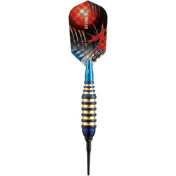 Gld Viper Atomic Bee Blue Soft Tip Darts 16 gm