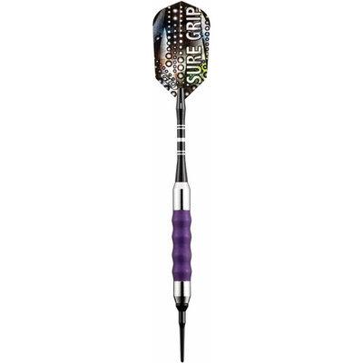 Gld Viper Sure Grip Purple Soft Tip Darts 18 Gram