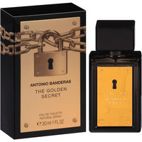 Antonio Banderas The Golden Secret Eau de Toilette Natural Spray, 1 fl oz