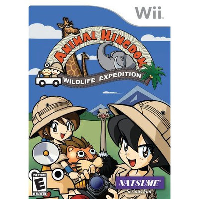 Solution 2 Go, Inc. Natsume, Inc. Animal Kingdom: Wildlife Expedition (Nintendo Wii)