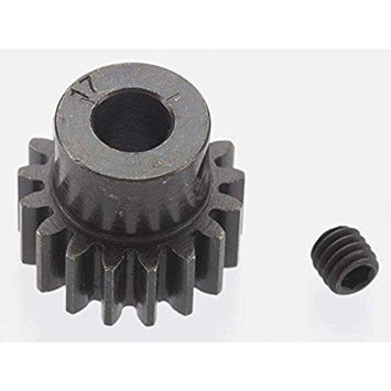 Robinson Racing Products Extra Hard 17 Tooth Blackened Steel 32p Pinion 5mm