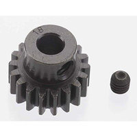 Robinson Racing Products Extra Hard 18 Tooth Blackened Steel 32p Pinion 5mm