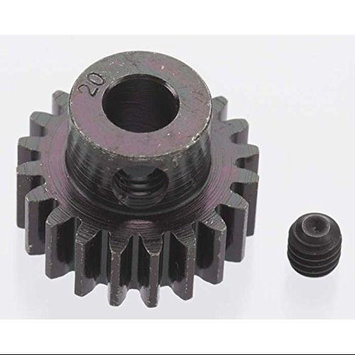 Robinson Racing Products Extra Hard 20 Tooth Blackened Steel 32p Pinion 5mm