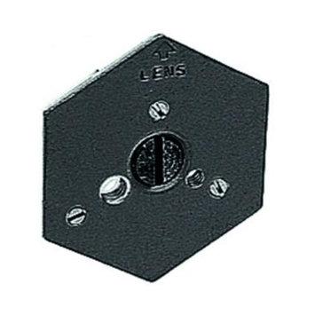 Manfrotto US - Hexagonal Qr Mntg Plate 1/4-20 Flush