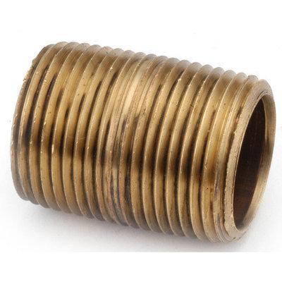 Anderson Metals 36712-06 3/8 Low Lead Close Nipple (5 Pack)