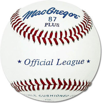 MacGregor #87OL Official League Baseballs (1 Dozen)
