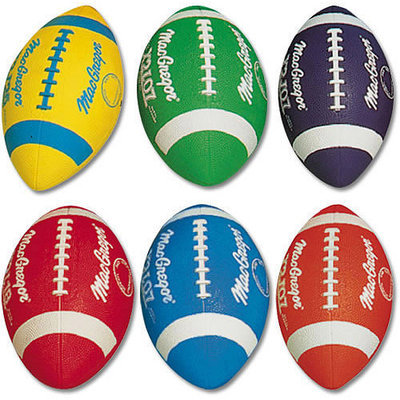 MacGregor Multicolor Footballs Prism Pack, Youth