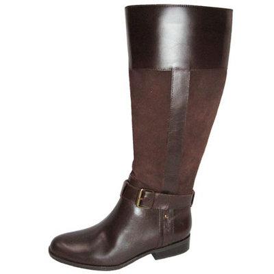 Anne Klein Women 'Costaro' Boot Shoe, Dark Brown/Brown, US 6
