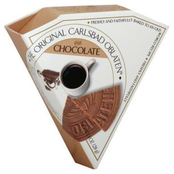 The Original Carlsbad Oblaten Almond With Chocolate Wafers, 1 oz, - Pack of 24
