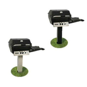 Broil-mate Broilmaster SS48G Stainless Steel Post - In-Ground