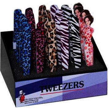 Ddi Novelty Printed Tweezers Case Of 48