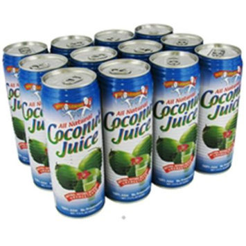Amy & Brian - All Natural Coconut Juice - 17.5 oz.