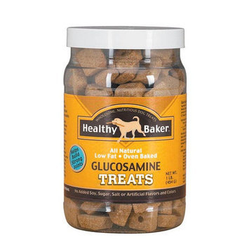 Pet Pals TP315 32 Healthy Baker Glucosamine Treats 2 Lb Jar 01