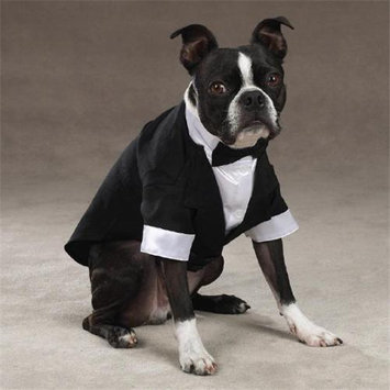 East Side Collection Yappily Ever After Groom Tuxedo, X-Small