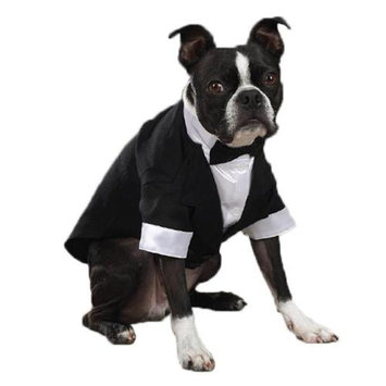 East Side Collection Yappily Ever After Groom Tuxedo, Small