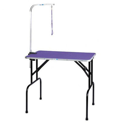 Master Equipment Pet Folding Grooming Table - Purple