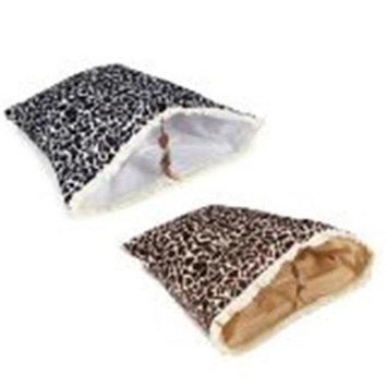 Savvy Tabby Wild Time Hide-N-Tweet Crinkler Cat Toy brown