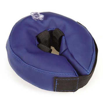 Petedge Dealer Services Total Pet Health Blue inflatable Collar, Small
