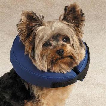 Petedge Dealer Services Total Pet Health Blue inflatable Collar, Medium