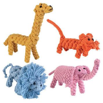 Pet Pals ZA4677 39 Zanies Rope Menagerie Giraffe
