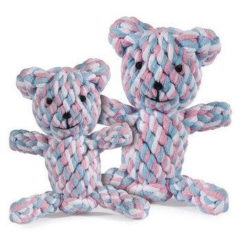 Zanies Rope Bear Dog Toy SM