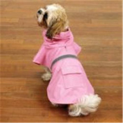 Guardian Gear Reflective Dog Rain Jacket XXS PNK