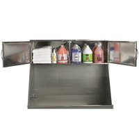 Pet Pals TP55202 ME Deluxe Stainless Steel Overhead Tub Cabinet S