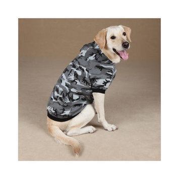 Casual Canine Camo Dog Hoodie XXL GRN