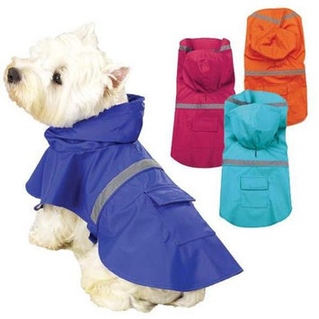 Guardian Gear Reflective Dog Rain Jacket S/M BLU