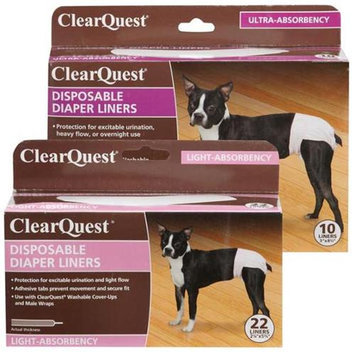 Clearquest US6116 22 Disposable Diaper Liner 22Pk Light
