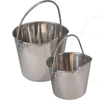 ProSelect Stainless Steel Flat Sided Pail 9QT