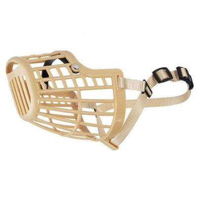 Guardian Gear Basket Dog Muzzle XL Beige