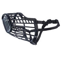 Guardian Gear Basket Dog Muzzle SM Black