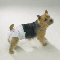 Petedge ZW958 14 Clean Go Pet Disposable Doggy Diapers Sm