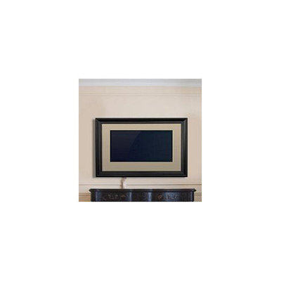 LCD Fashion TV Frame - - Mahogany