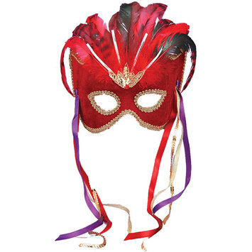 Forum Novelties Inc Forum Novelties 56289 Red Venetian Mask