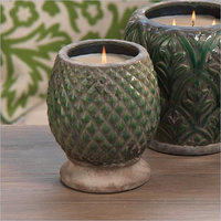 Zodax Monceau Scented Pineapple Candle Jar