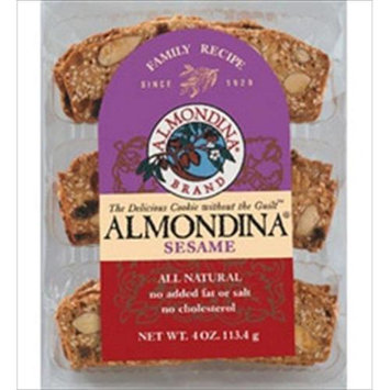 Almondina - Sesame And Almond Biscuits - 4 oz.
