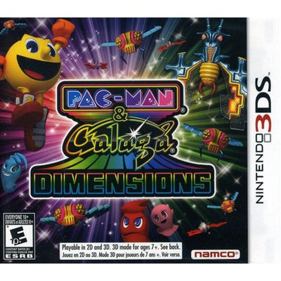 Pacman And Galaga Dimensions 3DS by 3DS