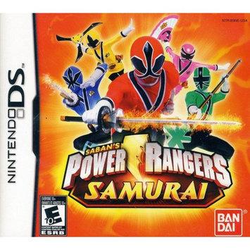 mco Nintendo DS Power Rangers Samurai Video Game