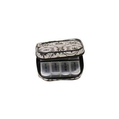 D.m. Merchandising DM Merchandising PB7GRE Womens 7-Day Pill Box Clutch Princess Grey