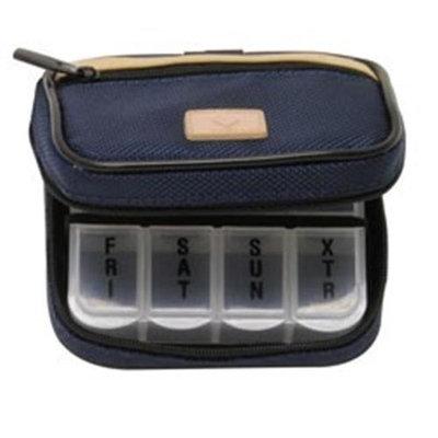 D.m. Merchandising DM Merchandising PB7MBLU Mens 7-Day Pill Box Case Blue