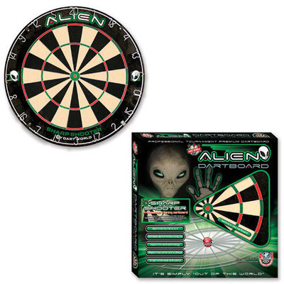 Dart World Alien Sharp Shooter Practice Board